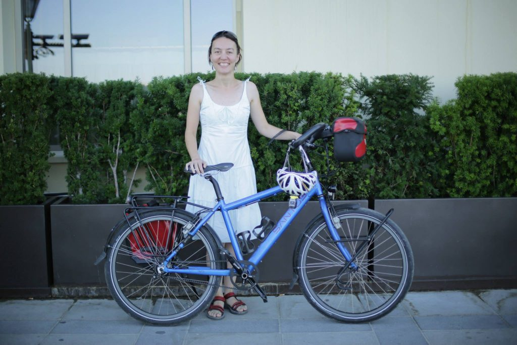 Bisikletli Kadın İnisiyatifi'nden Seçil Öznur